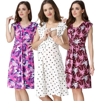 Dmart7dealMamaLove maternity clothes maternity dresses pregnancy clothes for Pregnant Women nursing clothes&dress Breastfeeding Dresses