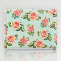 LONGING FOR SPRING- FLORAL PATTERN iPad Case by Allyson Johnson