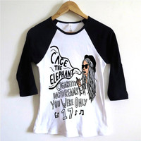 Cage The Elephant Baseball Tee