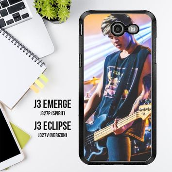 Calum Hood 5 Seconds Of Summer V0307 Samsung Galaxy J3 Emerge, J3 Eclipse , Amp Prime 2, Express Prime 2 2017 SM J327 Case