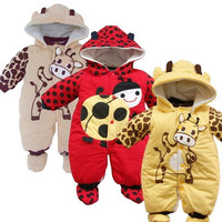 NEW Newborn Girl Boy Toddler Infant Hoodie Jumpsuit Bodysuit Baby Romper Clothes = 1932213572