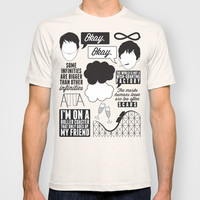 The Fault In Our Stars Collage T-shirt by Laurenschroer