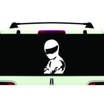 I am the Stig sick decal sticker car window bike dirt JDM dope filthiest redsun wall car