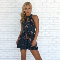 Beauty From Within Floral Romper