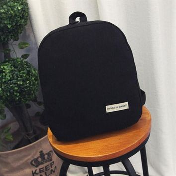Women Backpack for School Teenagers Girls Vintage Stylish School Bag Ladies Canvas Backpack Female Back Pack High Quality Bags