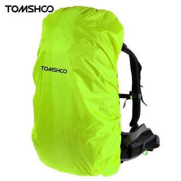 ONETOW TOMSHOO New 40L-50L Backpack Rain Cover Outdoor Camping Climbing Cycling Bag Cover Waterproof Protector Cover