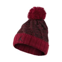 Jordan Jumpman Cable Knit Hat, by Nike (Red)