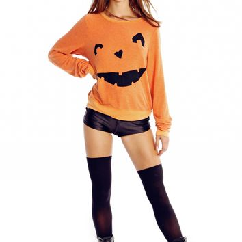 Happy As A Pumpkin Baggy Beach Jumper