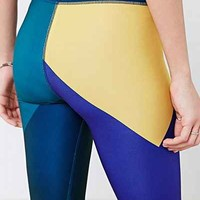 Without Walls Abstract Engineered Legging - Urban Outfitters