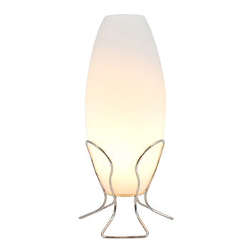 Cocoon Lamp Frosted Glass by Lumisource