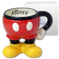 Disney Parks Best of Mickey Mouse Icon Body Signature Coffee Mug