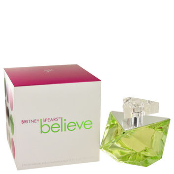 Believe Perfume by Britney Spears-3.4 oz Eau De Parfum Spray