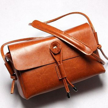 Fashion Leather Small Bag Ladies Shoulder Casual Bag