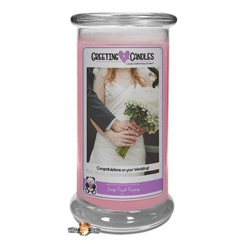 Congratulations On Your Wedding | Jewelry Greeting Candles