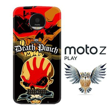 five finger death punch Z3324 Motorola Moto Z Play Case