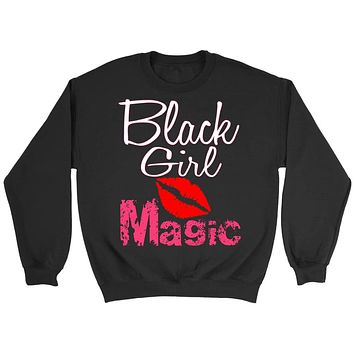Black girl Magic African American melanin Long sleeve for women