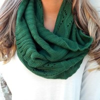 Emerald Infinity Scarf