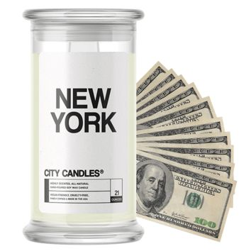 New York City Cash Candle