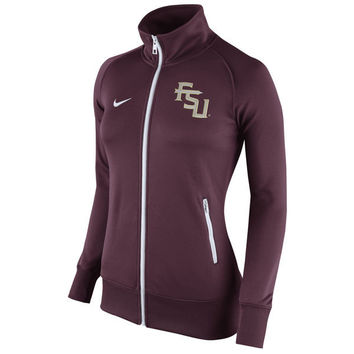 NCAA Nike Florida State Seminoles Women's Garnet Stadium Classic Full Zip Track Jacket