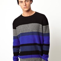 American Apparel | American Apparel Stripe Jumper at ASOS