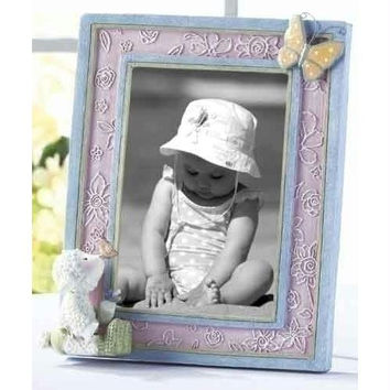 4 Picture Frames - 3d Butterfly And Lamb