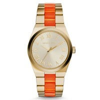 Channing Gold-Tone Acetate Watch | Michael Kors