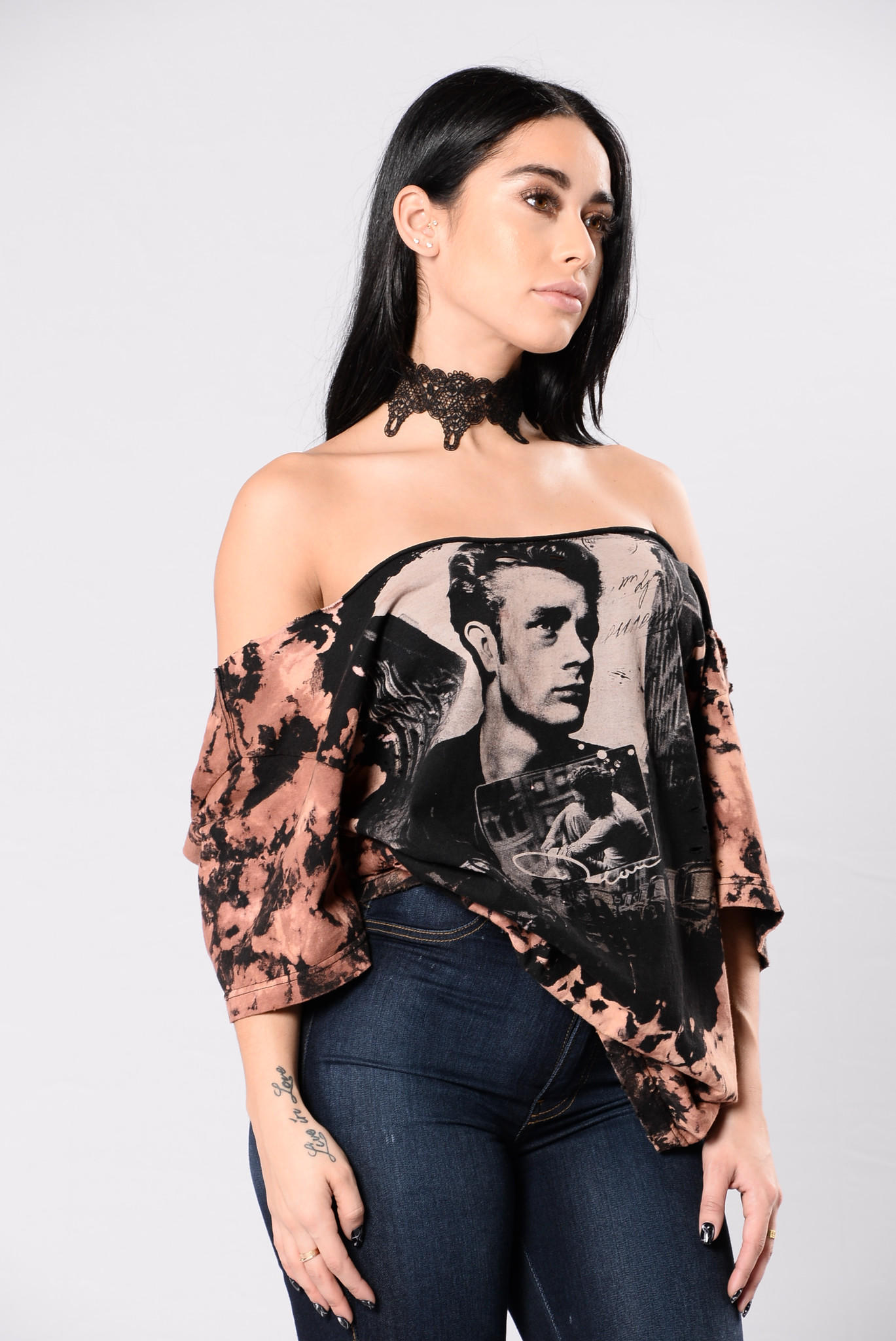 5e8c75b8d93c Going Home With Dean Tee - Black/Taupe from Fashion Nova | New