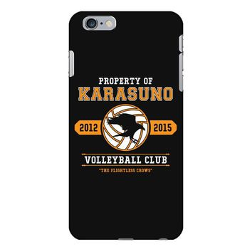 Property of Karasuno High School Volleyball Club iPhone 6/6s Plus Case