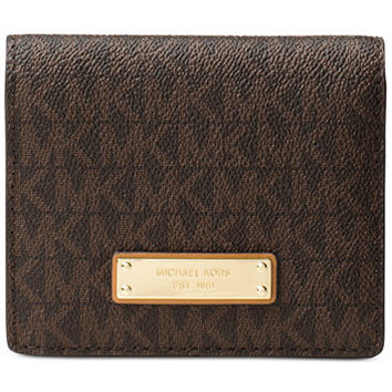 MICHAEL Michael Kors Jet Set Flap Card Holder | macys.com