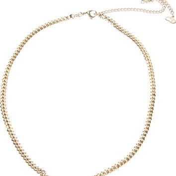 Christian Dior Vintage Crystal Trio Chain Necklace