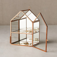 Wall-Mounted Glass House Storage | Urban Outfitters