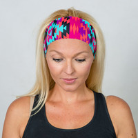Running Headband Workout Headband Fitness Headband Yoga Headband Gym Gear Boho Headband Fashion Headband Women Head Wrap Turban Headband