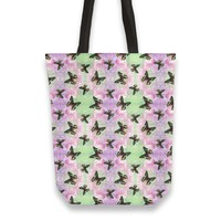 Urania ripheus butterfly watercolor pattern Totebag by Savousepate from €25.00   miPic