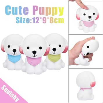 Jumbo Squishy Cute Puppy Scented Cream Slow Rising Squeeze Decompression Toys