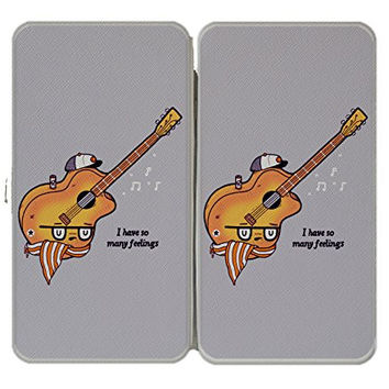'Douche Guitar' Hipster Humor - Taiga Hinge Wallet Clutch