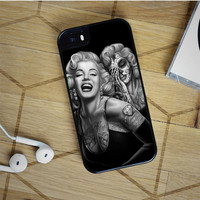 marilyn monroe day of the dead iPhone 5(S) iPhone 5C iPhone 6 Samsung Galaxy S5 Samsung Galaxy S6 Samsung Galaxy S6 Edge Case, iPod 4 5 case