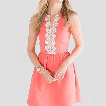Audrina Crochet Dress