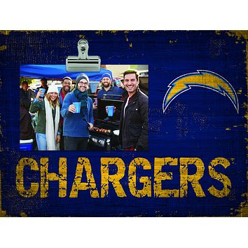 Los Angeles Chargers Clip Frame