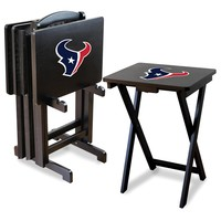 Houston Texans TV Snack Tray Set