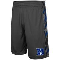 Duke Blue Devils Youth Mustang Shorts - Charcoal