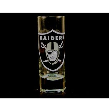 Raiders Shot Glass - 2OZ Cordial HYPE Style