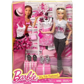 Barbie Doll and 2 Fashions - Walmart.com