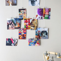 Picture Frame and Glory Photo Hanger by ModCloth