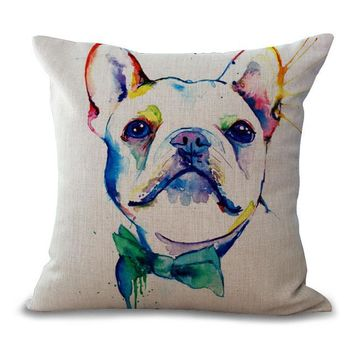Bullfight Dog Pillow Cases