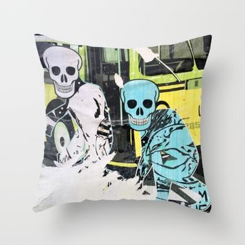 Layers 14 Throw Pillow by EXIST NYC