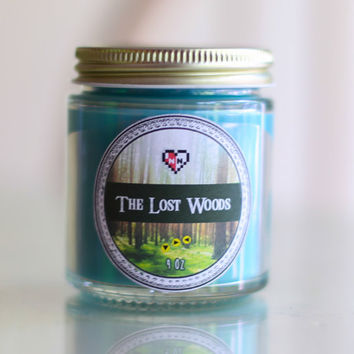 The Lost Woods Legend of Zelda Soy Blend Candle (4 oz.)
