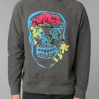 Junk Food Flower Skull Sweatshirt