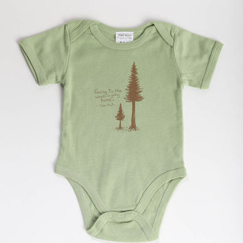 John Muir Onesuit - Ethical Infant