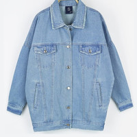 Original Oversized Denim Jacket