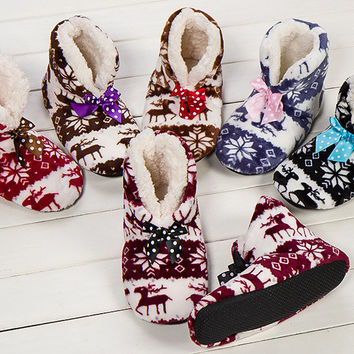 2016 new indoor home slippers cotton slippers plush home